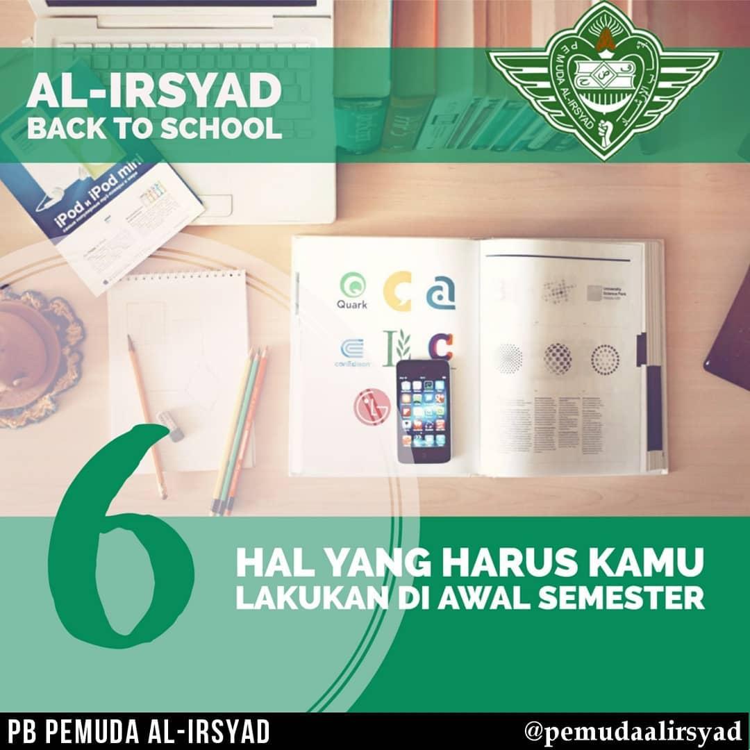 al irsyad back to school - semester baru - pemuda al irsyad